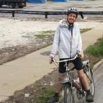 jesse on a bike