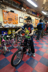 Kids bikes repair party