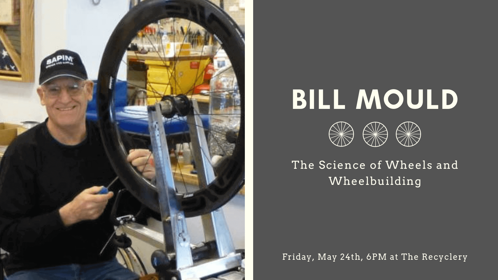Bill Mould: The Science of Wheels and Wheelbuilding