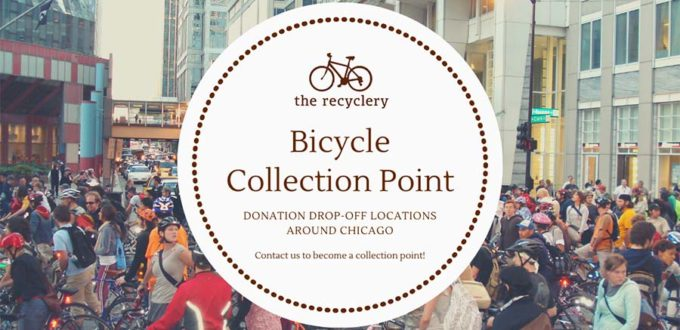donate used bikes to the recyclery